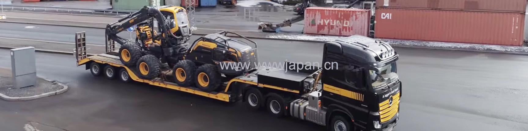 庞赛二手伐木机BEAVER、Ergo6w、8w旧Ponsse伐木机进口采购海运清关送货门到门服务平台