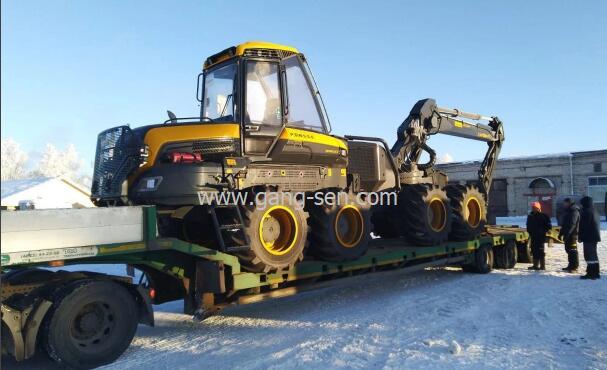 庞赛 ERGO 8WD二手伐木机从德国进口的不含税价格