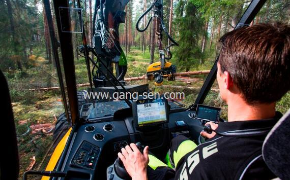 Ponsse Ergo 8W二手伐木机从瑞典进口广西关税及手续