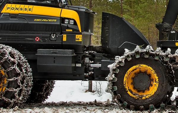 庞赛二手伐木机的特殊功能说明!发动机强悍