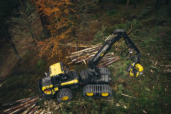 庞赛二手伐木机之Ponsse在瑞典Sandviken开设了一个新的服务中心