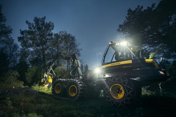 进口芬兰庞赛二手伐木机采购建议