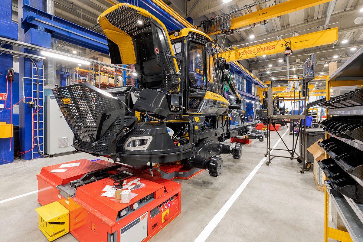 庞赛伐木机Ponsse于2019年1月1日至3月31日的中期报告